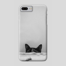 Slinky Cat - Phone Case by Cvetelina Yurukova