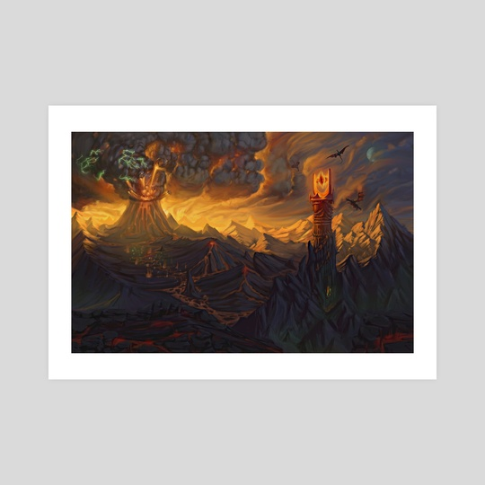 Mt. Doom by Chase Henson