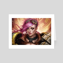 VI - Art Card by Fernanda Suarez