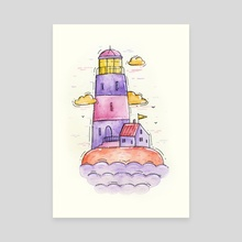 Lighthouse Dreams - Canvas by Tania S