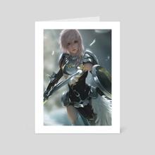 FFXIII-2 Lightning - Art Card by Sean Tay