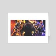 Avengers Endgame - Infinity War  - Art Card by Pablo Ruiz