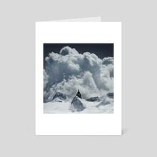 Ailleurs II - Art Card by Maéna Paillet