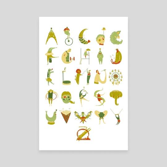 Circus Alphabet by Hannah Ross
