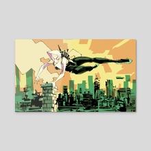 Spider-Gwen - Acrylic by Hayden Sherman
