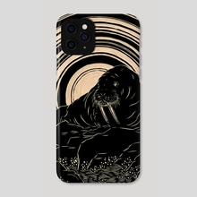 Walrus - Phone Case by M'fanwy Dean