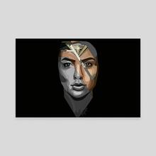 Wonderwoman - Canvas by Anna Shapovalova