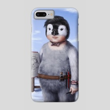 Penguin - Phone Case by Luz Tapia