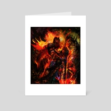 dark souls 3 - Art Card by Maxim G
