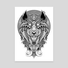 Wild Spirit - Canvas by GODZILLARGE