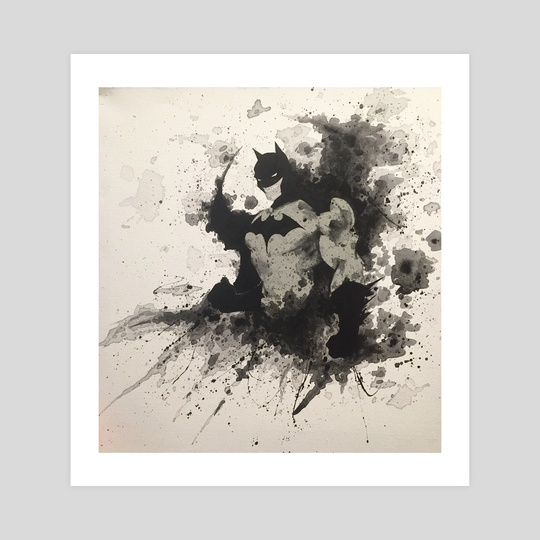 The Dark Knight by andrew garza