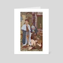 Louis XIV Kidnapping  - Art Card by Nacho Kalbhande
