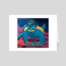 Jorge - Art Card by Ronan Porter