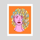 Hazey Jane - Art Print by Matt Schroeter