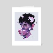 Candy boy - Art Card by Sara Hjardar