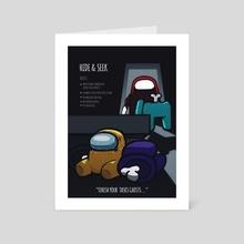 Hide & Seek - Art Card by Mashz