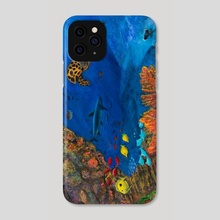 Reef - Phone Case by Ronald Zeman