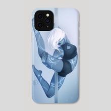 Runic Dove - Phone Case by Christina Barton