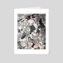 Chaos to Silent - Art Card by Kiv Bui