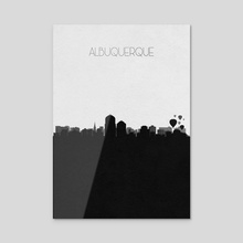 Albuquerque - Acrylic by Deniz Akerman