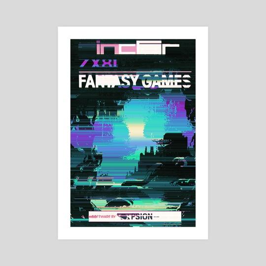 Fantasy Games by Retro Glitch