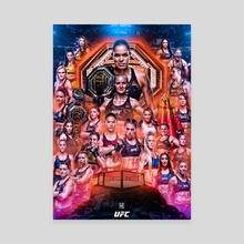 UFC International Women's Day 2020 - Canvas by Danilo Almeida