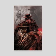 Zorro - Canvas by Sam Watson