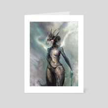 Asmodai - Art Card by Jim Pavelec