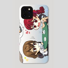Miel and Crêpes - Phone Case by goro_orb