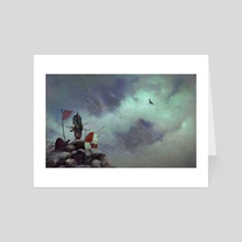 Watchman - Art Card by Pio Foks