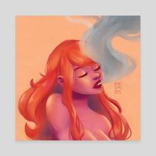Warmth - Canvas by Fatima Zakari