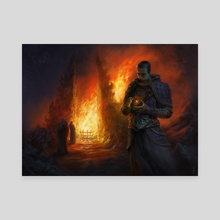 Firekeeper - Canvas by Ludvik SKP