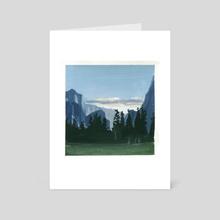 Running Out - Art Card by Becki Shu