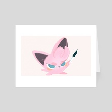 JIGGLYPUFF'T - Art Card by James Jeffers