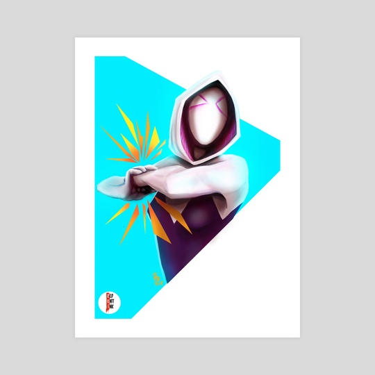 Spider Gwen by Rui Macarico