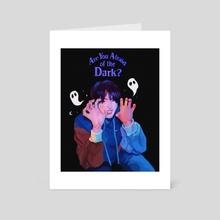 Afraid of the Dark - Art Card by icetii