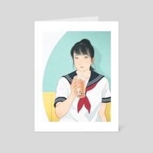 Hikaru - Art Card by Sai Tamiya