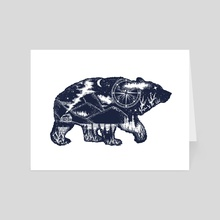 Bear - Art Card by intueri