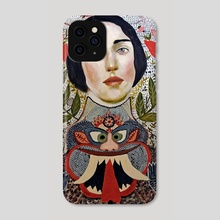 Heart of a Dragon - Phone Case by Misty  Mawn