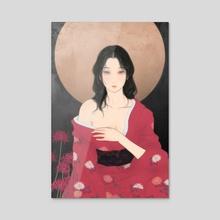 Matsuri - Acrylic by Sai Tamiya