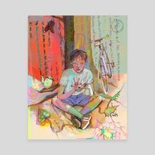 No, Honey, No - Canvas by Ellie Hsu