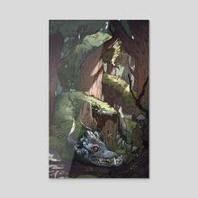 Azure Dragon - Acrylic by Brady Gurley
