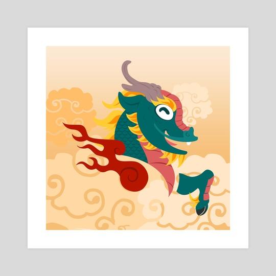 Silly Beasty : Kirin by Valériane Duvivier