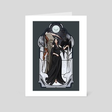 The Prayers of Ravens - Art Card by Claudio Pozas