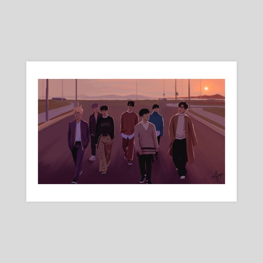 "iKON ""Goodbye Road"" by milkyopi"
