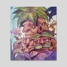 Jazz Tree-O - Acrylic by John DePianto