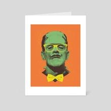Mr Frank - Art Card by Victor Vercesi