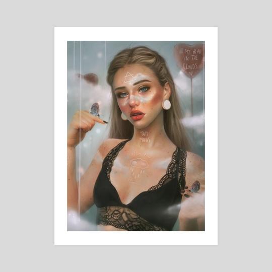 Air Element Goddess by Tati MoonS