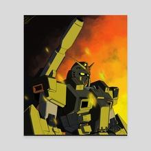 Full Armor - Canvas by Jon Saab