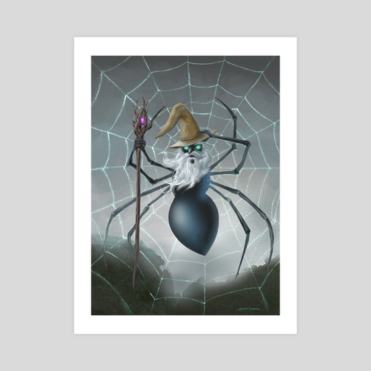 Spider Wizard by Jeff Ward